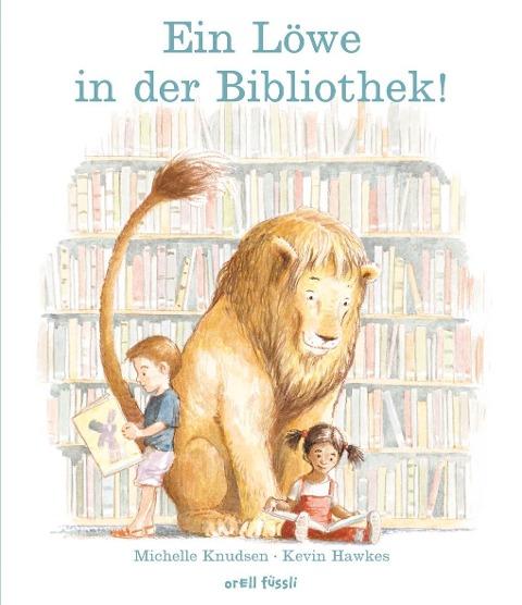 Ein Löwe in der Bibliothek