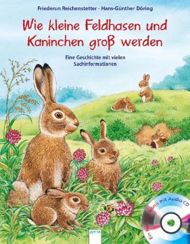 Wie kleine Feldhasen und Kaninchen groß werden