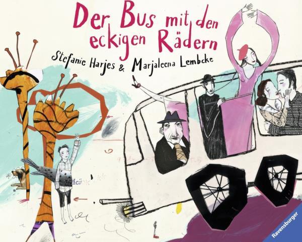 Der Bus mit den eckigen Rädern