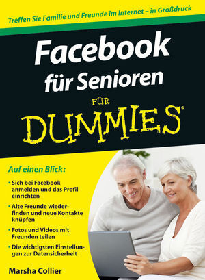 Cover: Facebook für Senioren für Dummies