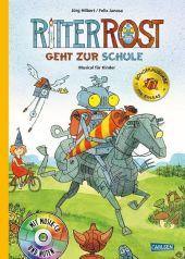 Ritter Rost geht zur Schule - Musical für Kinder mit CD