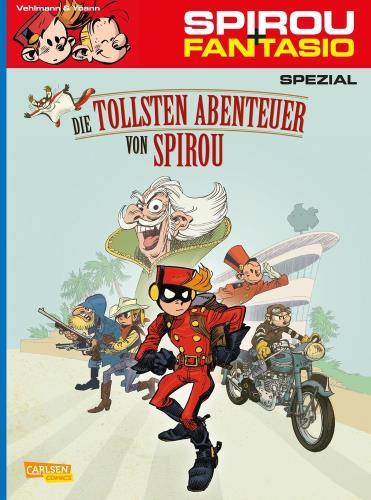 Spirou & Fantasio spezial - 24. Die tollsten Abenteuer von Spirou
