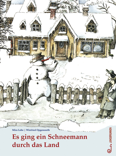 Es ging ein Schneemann durch das Land