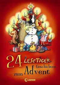 24 Lesetiger-Geschichten zum Advent