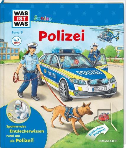 Was ist was Junior: Polizei  Bd. 9