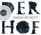 Cover: Johannes Steck liest Simon Beckett, Der Hof [Tonträger]