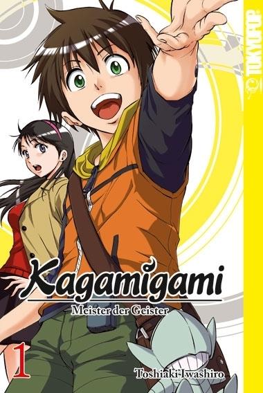 Kagamigami - 1. Der Shikigami-Meister und die Detektivin?!