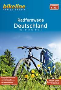 Radfernwege Deutschland mit Karte