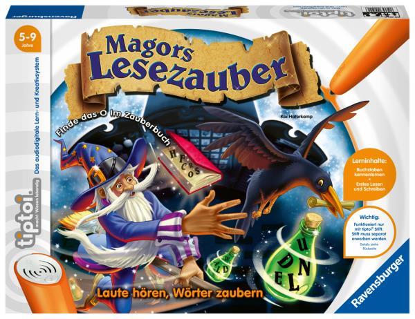 Tiptoi - Magors Lesezauber