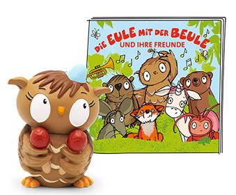 Coverbild Die Eule mit der Beule und ihre Freunde