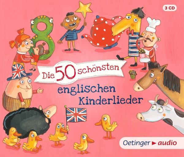 Die 50 schönsten englischen Kinderlieder