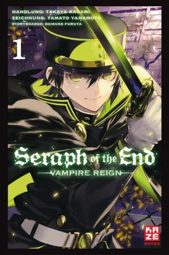 Seraph of the end - Vampire reign - 1