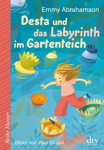 Desta und das Labyrinth im Gartenteich