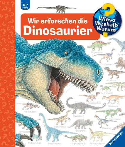 Wir erforschen die Dinosaurier