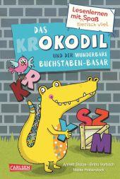 Das Krokodil und der wunderbare Buchstaben-Basar