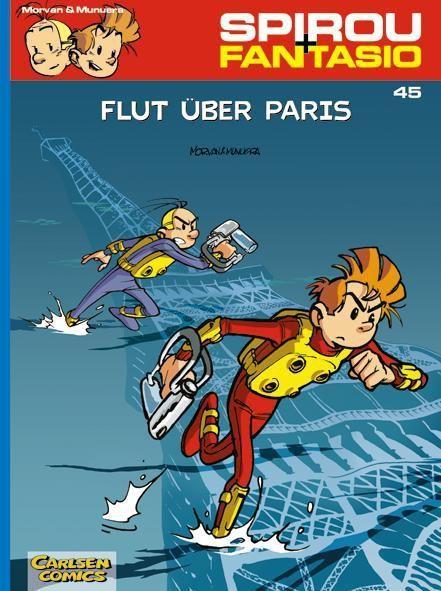 Spirou + Fantasio - 45. Flut über Paris