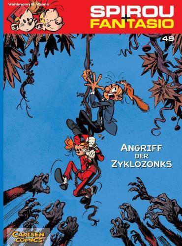 Spirou + Fantasio - 49. Angriff der Zyklozonks