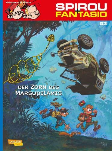 Spirou und Fantasio - 53. Der Zorn des Marsupilamis