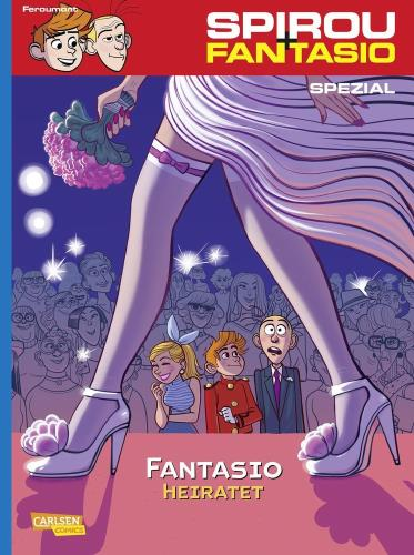 Spirou + Fantasio spezial - 21. Fantasio heiratet