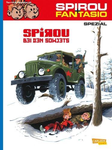 Spirou + Fantasio spezial - 30. Spirou bei den Sowjets