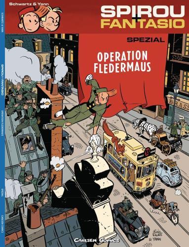 Spirou + Fantasio spezial - 9. Operation Fledermaus
