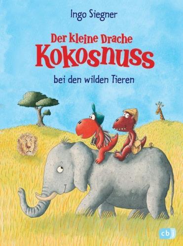 Cover des Mediums: Der kleine Drache Kokosnuss bei den wilden Tieren