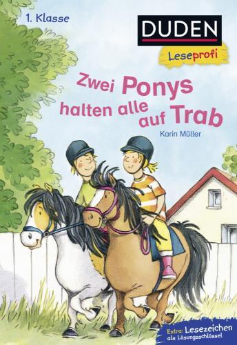 Zwei Ponys halten alle auf Trab