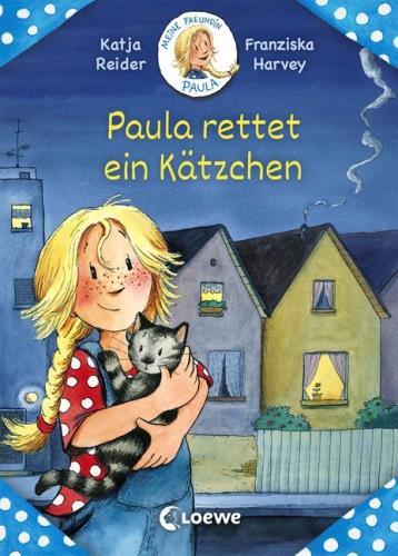 Paula rettet ein Kätzchen