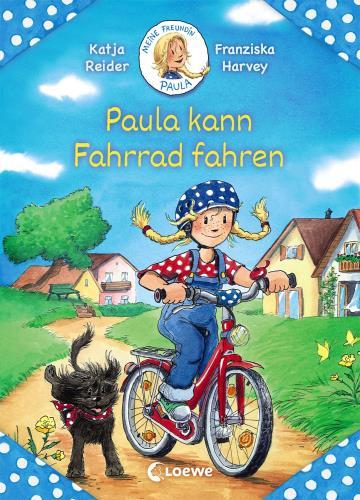 Paula kann Fahrrad fahren