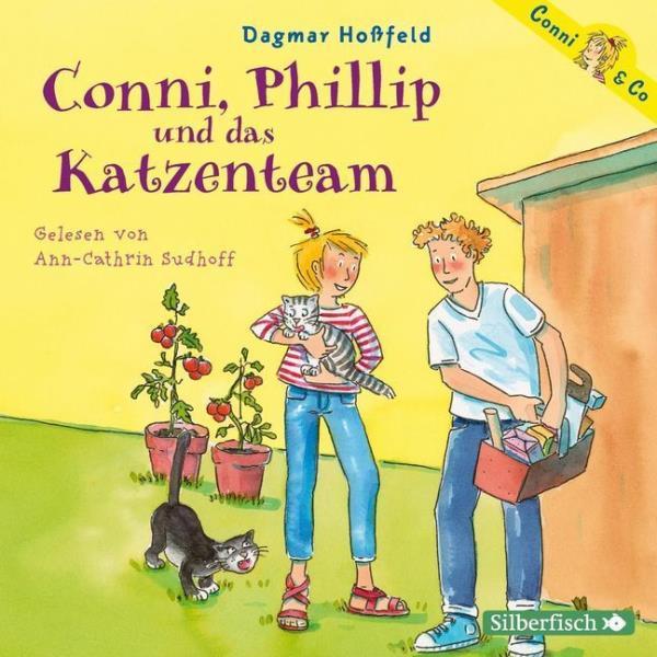 Cover des Mediums: Conni, Phillip und das Katzenteam