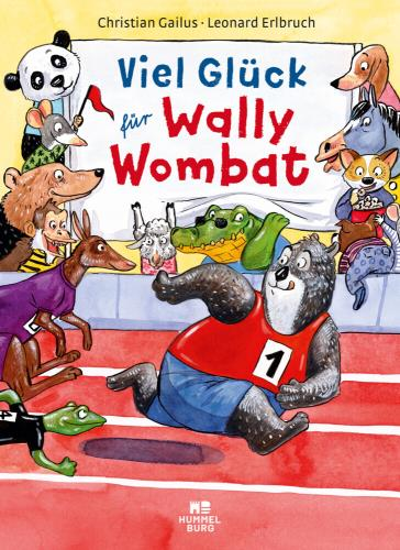 Viel Glück für Wally Wombat