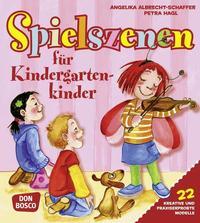 Spielszenen für Kindergartenkinder
