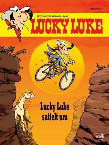 Lucky Luke - Lucky Luke sattelt um