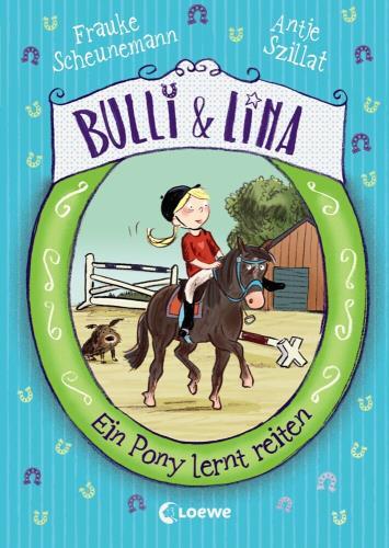 Ein Pony lernt reiten