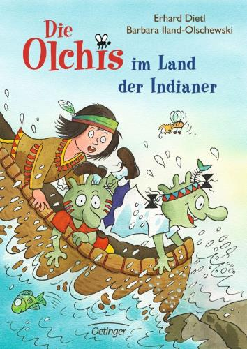 Die Olchis im Land der Indianer