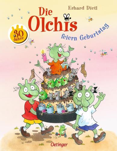 Die Olchis feiern Geburtstag
