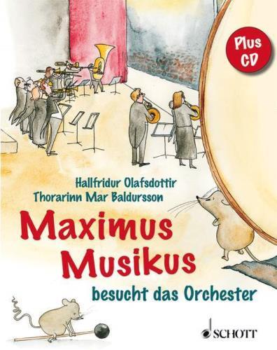 Maximus Musikus besucht das Orchester