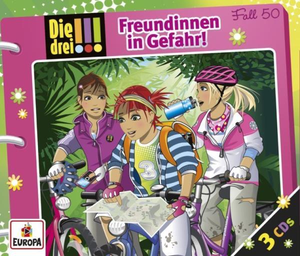 Cover des Mediums: Die drei !!! - Freundinnen in Gefahr !
