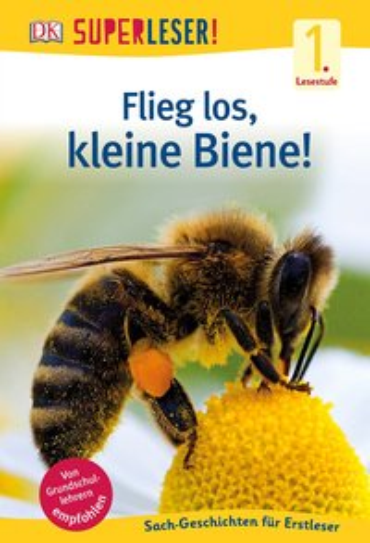 Flieg los, kleine Biene!