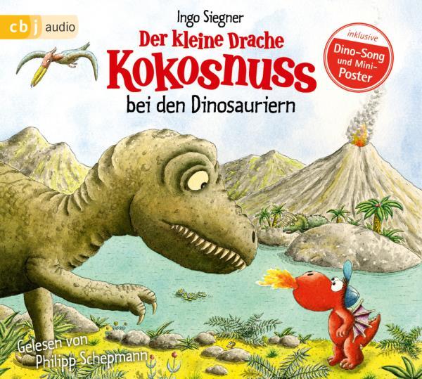 Cover des Mediums: Der kleine Drache Kokosnuss bei den Dinosauriern