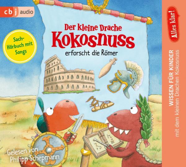 Der kleine Drache Kokosnuss erforscht die Römer
