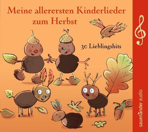 Meine allerersten Kinderlieder zum Herbst