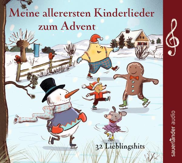 Meine allerersten Kinderlieder zum Advent