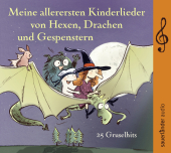 Meine allerersten Kinderlieder von Hexen, Drachen und Gespenstern