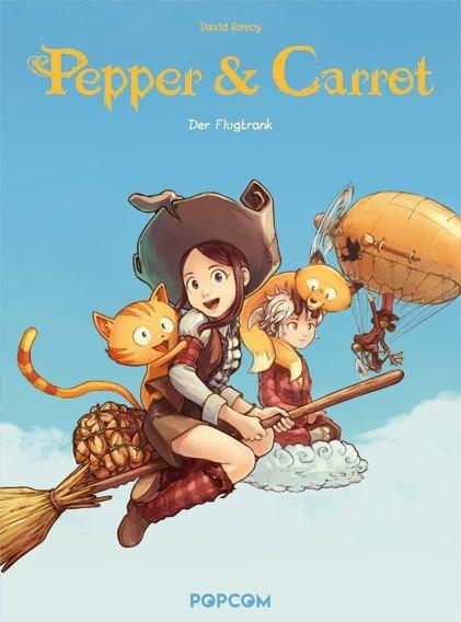 Pepper & Carrot - 1. Der Flugtrank
