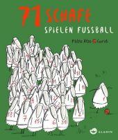 71 Schafe spielen Fußball