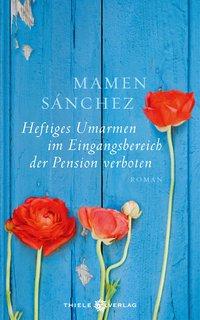 Heftiges Umarmen im Eingansbereich der Pension verboten