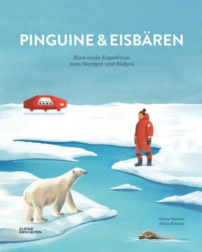 Pinguine und Eisbären