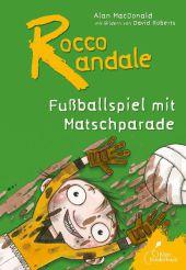 Fußballspiel mit Matschparade