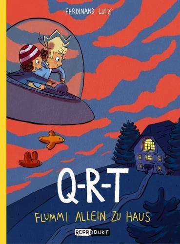 Q-R-T - Flummi allein zu Haus